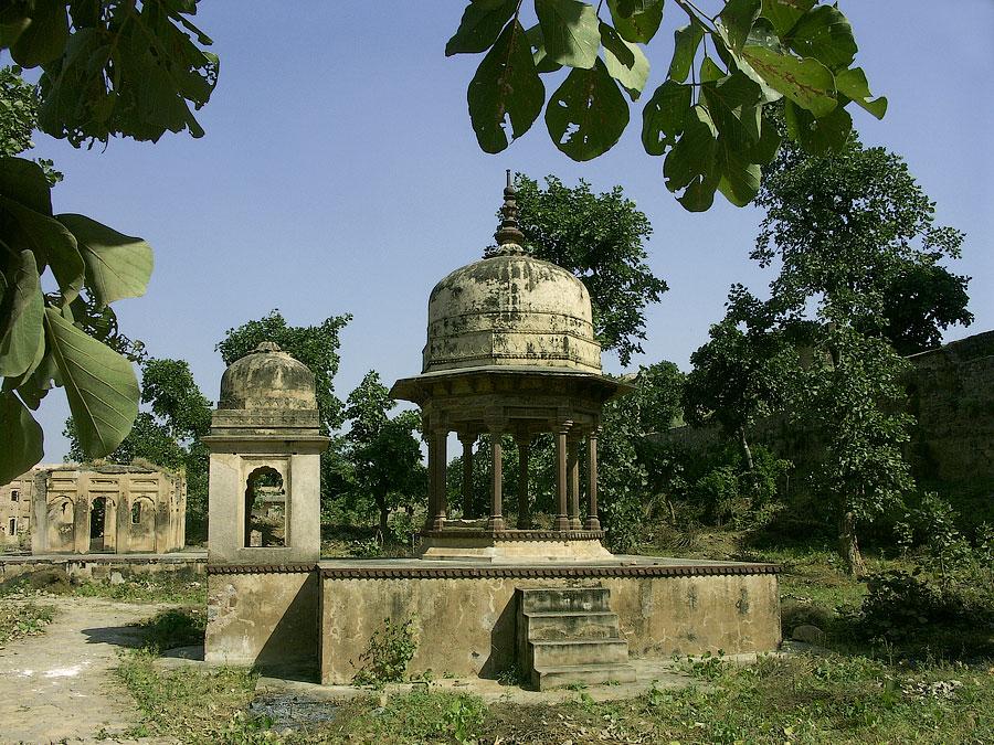 Джехангир Махал. Орчха, Мадхья Прадеш, Индия © Kartzon Dream - авторские путешествия, авторские туры в Индию, тревел видео, фототуры