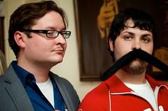 DSC_2859 (Yelp.com) Tags: ohio unitedstates cincinnati yelp mustache arnoldsbar