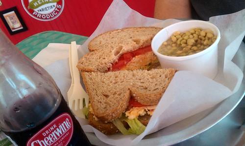 Kitsch'n 155: Pimento Cheese Sandwich