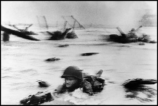 Robert Capa, Normandy D-Day, Omaha Beach, June 6th, 1944