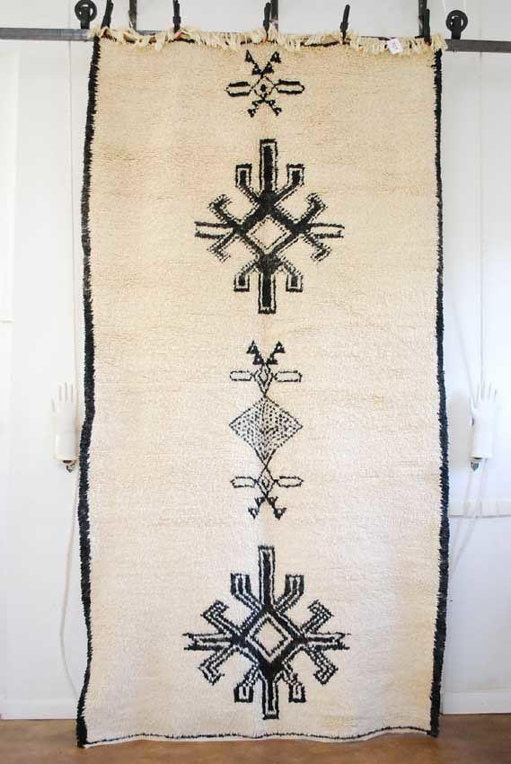 Moroccan Beni Ourain carpet rug 328