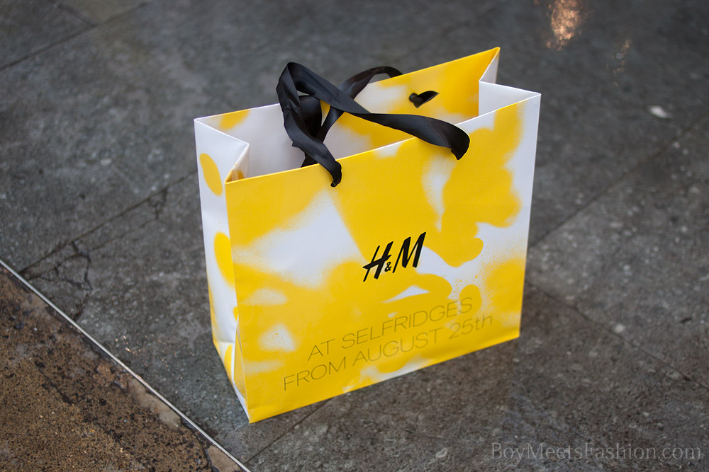 H&M opens in Selfridges - launch day