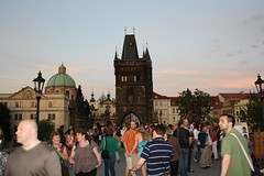 "People on Charles Bridge (Karlův most), Prague (Prag/Praha) • <a style=""font-size:0.8em;"" href=""http://www.flickr.com/photos/23564737@N07/6083156486/"" target=""_blank"">View on Flickr</a>"