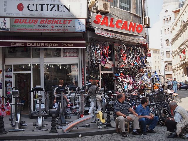 伊斯坦堡街道--貨品展示