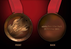 Adobo Run 2011 medal