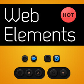100 Free PSD Web UI Elements For Download