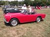 1962 Triumph TR4 (cjp02) Tags: show classic car vintage indiana days british motor zionsville fujipix av200 cjp02 1962triumphtr4indy