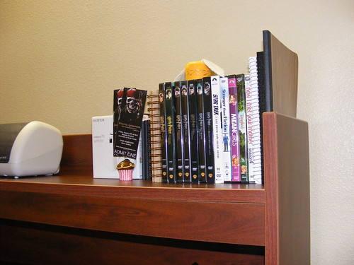 DVDs and journals