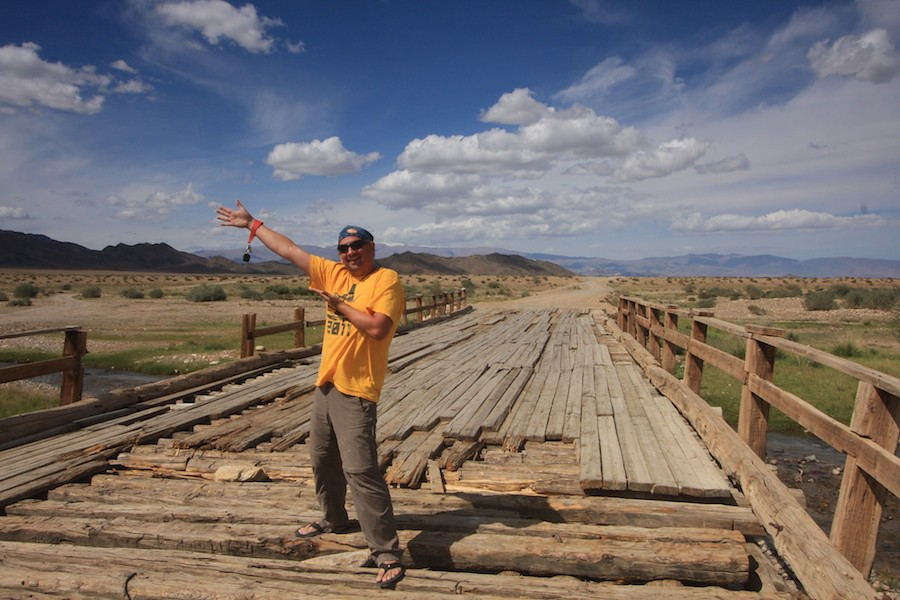 rickety bridge mongol rally