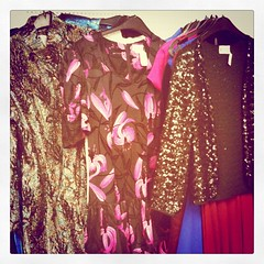 Sequin glittery dresses