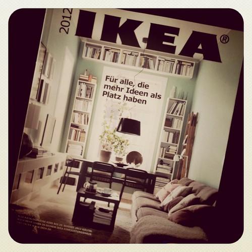 New IKEA catalog! Yay!