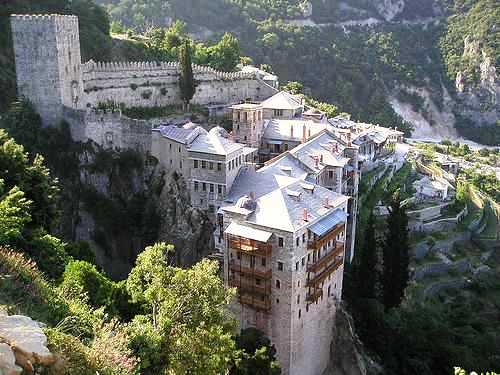 Monasterio Stpaulmtathos