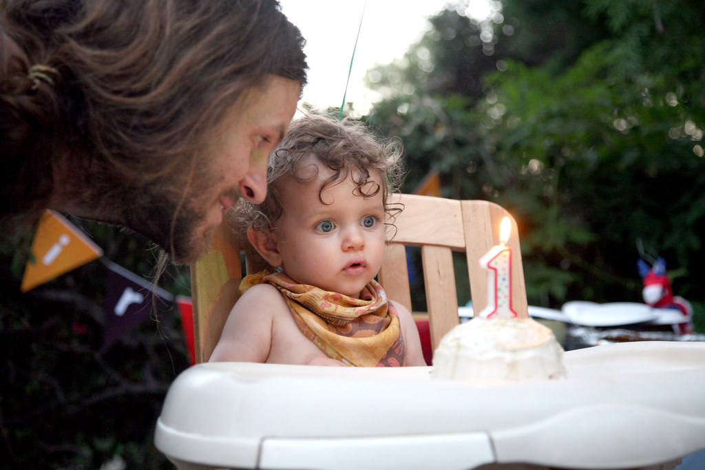 JW's First Birthday Party