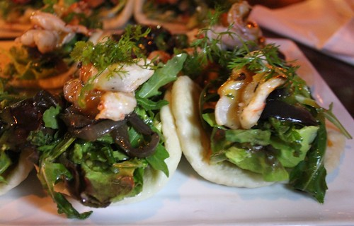 Shrimp Bao at Moko
