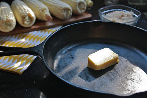 butter + skillet