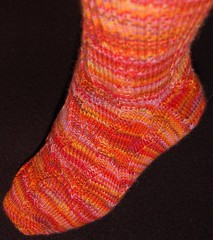 Girl on Fire Sock2