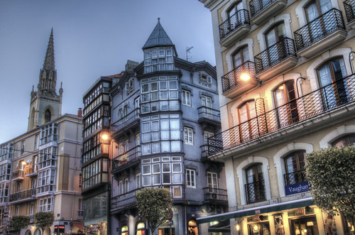 Santander blue hour. Cantabria. Hora azul en Santander