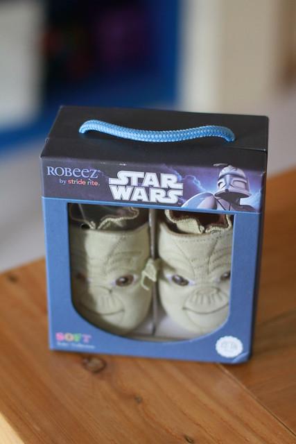 Baby M Loves Yoda