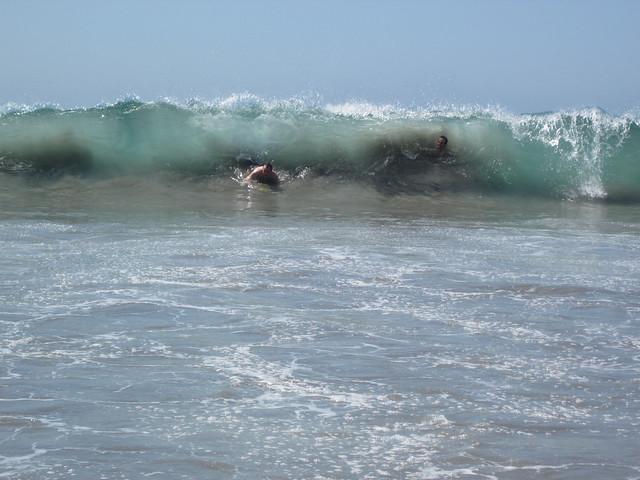 D3 beach kyle josh wave