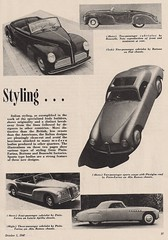 1947 Italian Cars (Hugo90) Tags: auto sports car magazine italian antique automotive industries 1947 coachbuilt