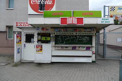 Kiosk in Rödelheim als Beispiel für Miniarchitektur