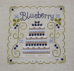 CCN Blueberry Cake by Renee's Stitching