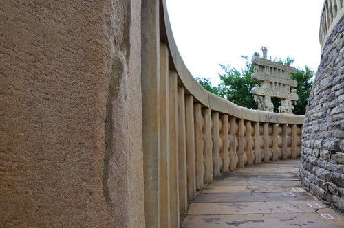 passage way sanchi