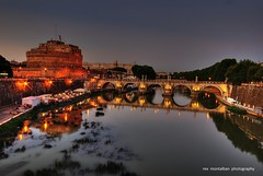 ponte sant'angelo (Rex Montalban Photography) Tags: italy rome europe hdr castelsantangelo pontesantangelo rexmontalbanphotography