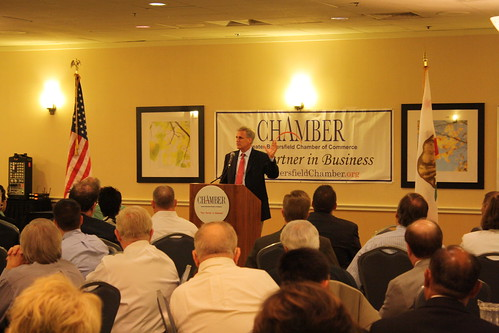 Congressman McCarthy discusses job creation with the Bakersfield Chamber of Commerce