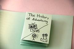 advertising notebook history of advertising