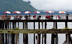 Icy Strait Point, Alaska (blmiers2) Tags: travel red white alaska lunch nikon icystraitpoint blinkagain d3100 blm18 blmiers2