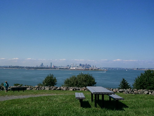 the view from spectacle island