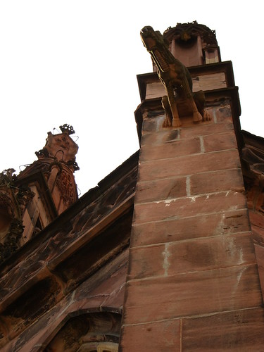 Freiburg Gargoyle Church by Danalynn C