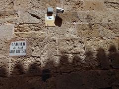 CCTV (Daquella manera) Tags: camera sign surveillance cctv ciudadela camara menorca cartel ciutadella vigilancia ciutadela surveyllance