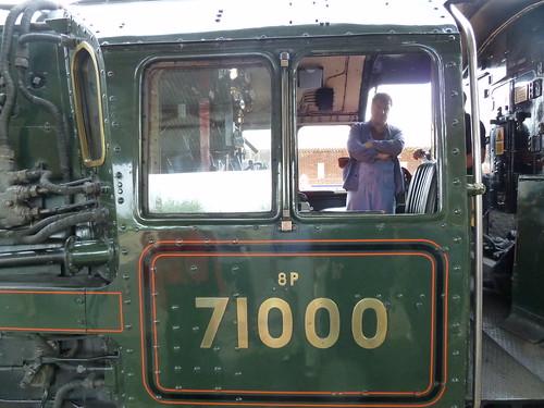 Steam Loco - 71000 Duke of Gloucester