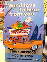 Krispy Kreme Customer Feedback