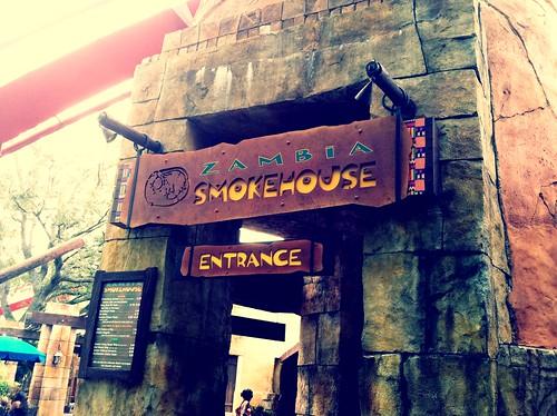 Zambia Smokehouse, Busch Gardens, Tampa