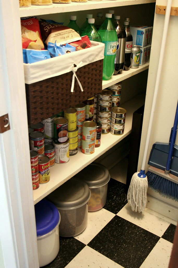 Pantry - after left side, bottom.