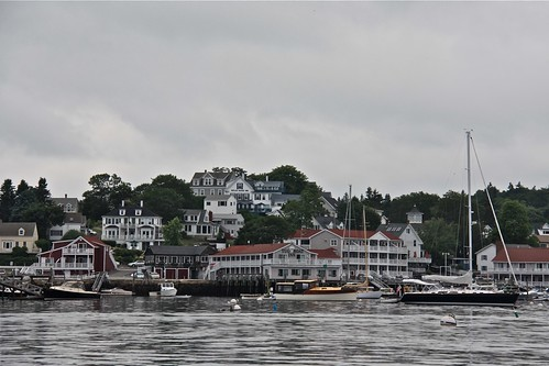 Picturesque Boothbay Harbor, Maine