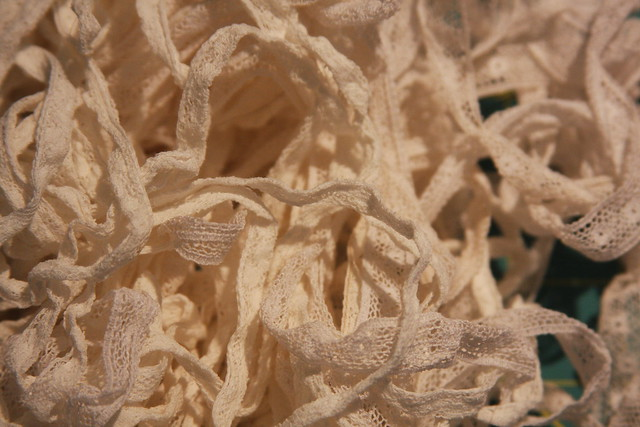 Vintage Vallenciennes lace
