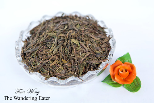 Longjing tea from Hangzhou, China (杭州龙井茶)