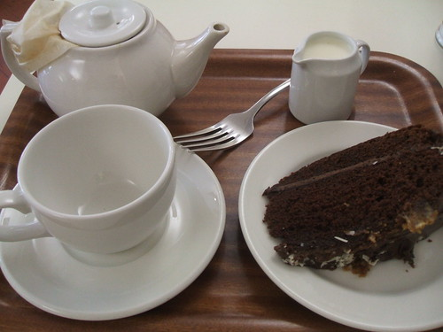 Tea and cake at the Ashmolean