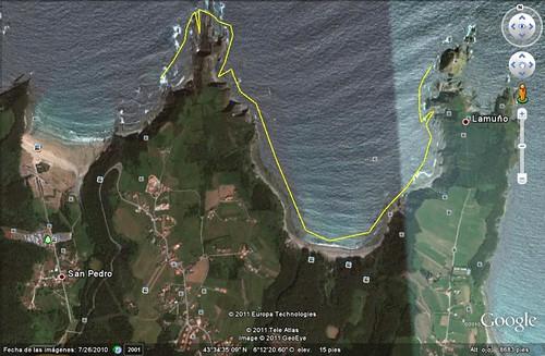 Punta Austera - Oleiros -Punta Malperro
