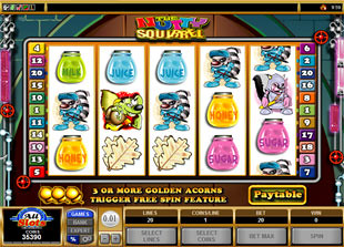 Nutty Squirrel Slot Machine