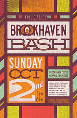 Brookhaven Bash | poster (final) (killingclipart) Tags: poster design harvest brookhaven
