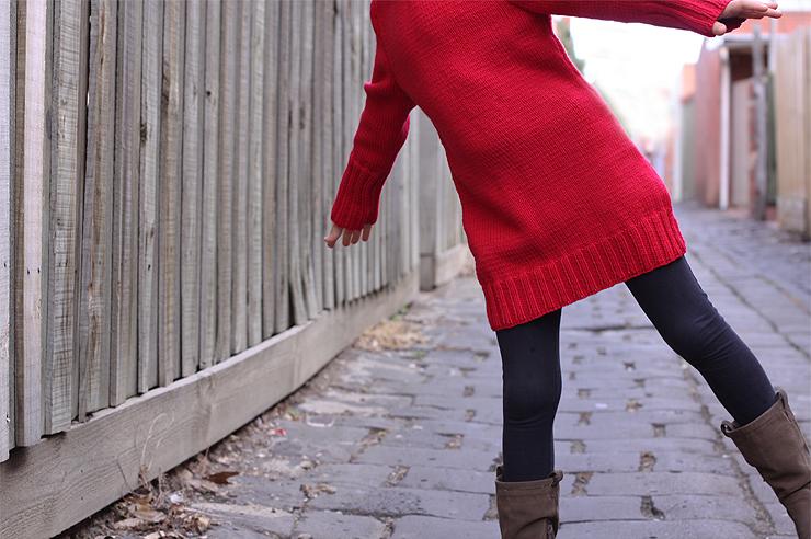 Red Dress #4