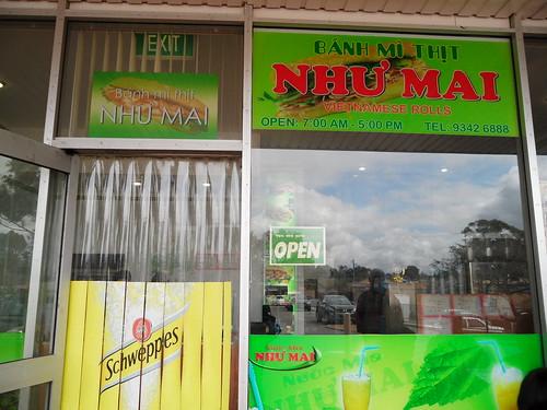 Nhu Mai Shop Front