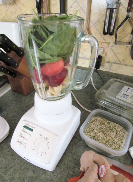Load Up Smoothie Ingredients