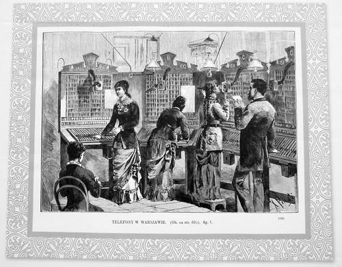 19. Centrala telefoniczna, ul. Nowoprozna (obecnie ul. Prozna), 1882
