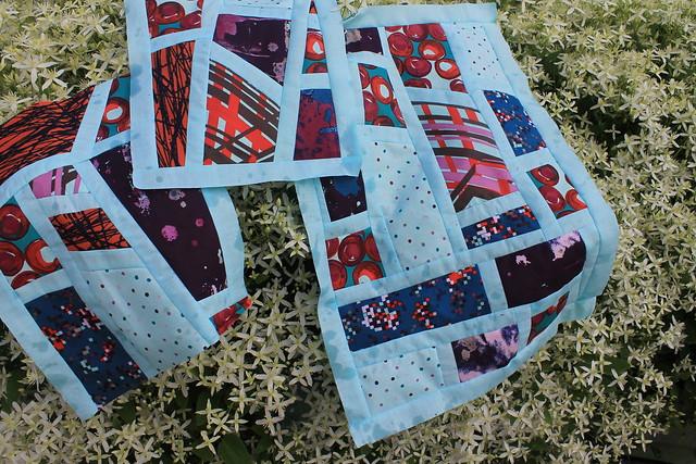 Modern Quilt Guild Habitat Fabric Challenge